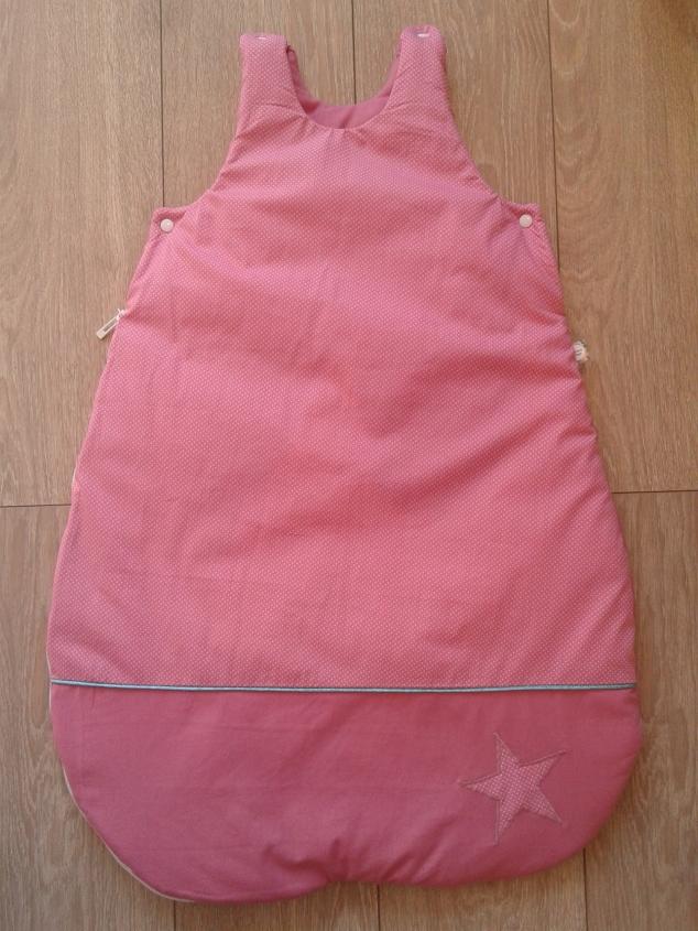 baby sleeping bag pink