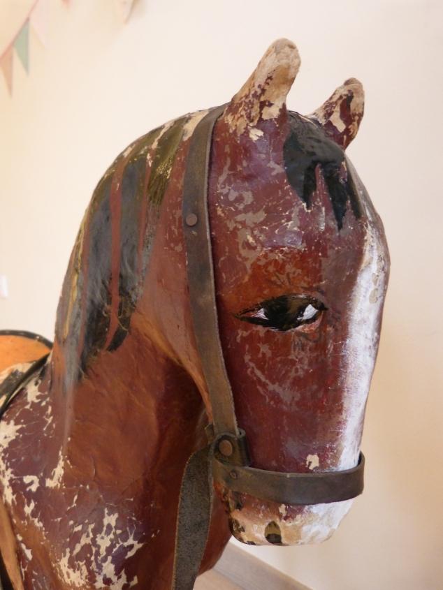 Papier maché horse (2)