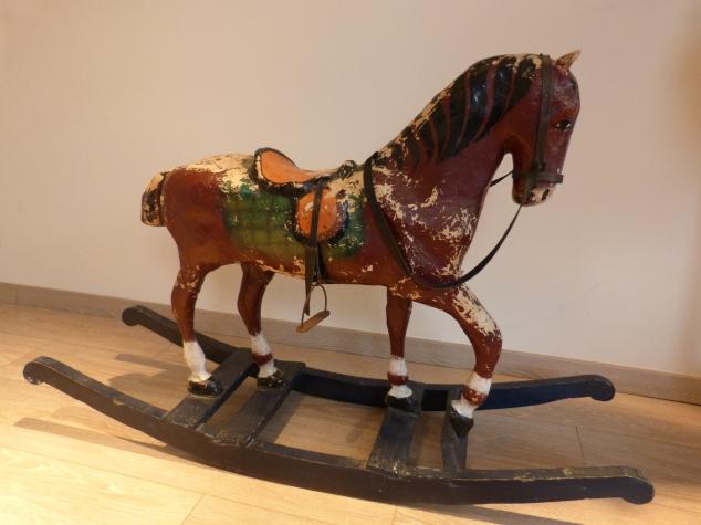 Papier maché horse